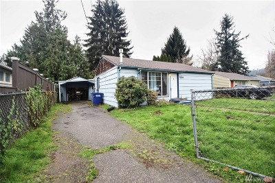 Puyallup WA Single Family Home For Sale: $230,000