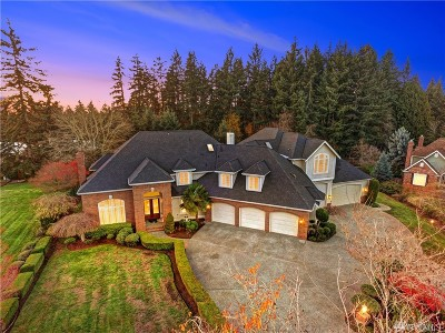 Woodinville Single Family Home For Sale: 14813 163rd Ct NE