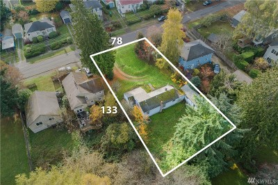 Seattle Residential Lots & Land For Sale: 2718 NE 90th St