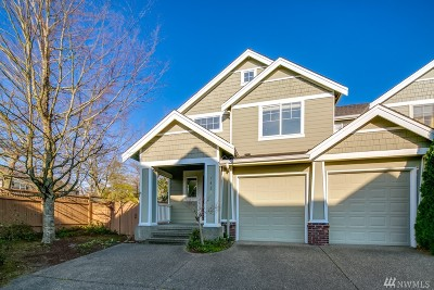 North Bend, Snoqualmie Single Family Home Contingent: 7423 Dogwood Lane SE