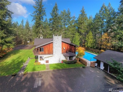 Shelton Single Family Home For Sale: 1730 E Brokdale Rd