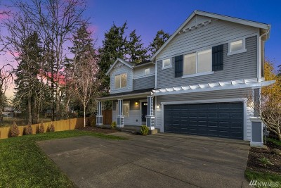 Spanaway Single Family Home For Sale: 1709 177th St E