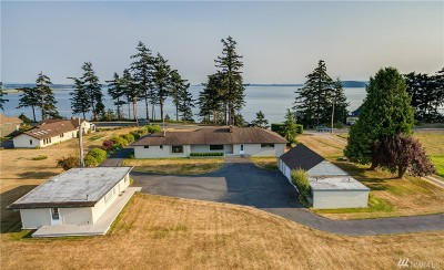 Skagit County Single Family Home For Sale: 10749 Samish Island Rd