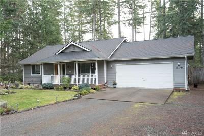 Mason County Single Family Home Sold: 1350 E Manzanita Dr