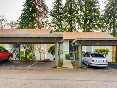 Federal Way Condo/Townhouse For Sale: 125 S 340th St #H