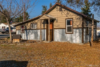 Wenatchee Single Family Home For Sale: 1522 Cresent St