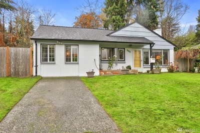 Seattle, Bellevue, Kenmore, Kirkland, Bothell Single Family Home For Sale: 9723 Dibble Ave NW