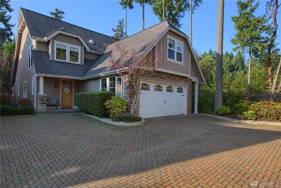Gig Harbor Single Family Home For Sale: 3315 Emerald Lane