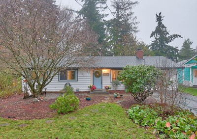 Edmonds Single Family Home For Sale: 19719 83rd Place W