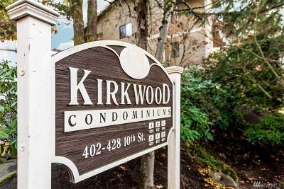 Kirkland Condo/Townhouse For Sale: 412 10th St #B101