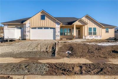 Wenatchee Single Family Home For Sale: 807 Autumn Crest Dr