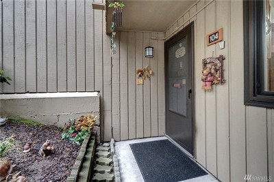 Bellevue Condo/Townhouse For Sale: 3518 109th Place NE #104