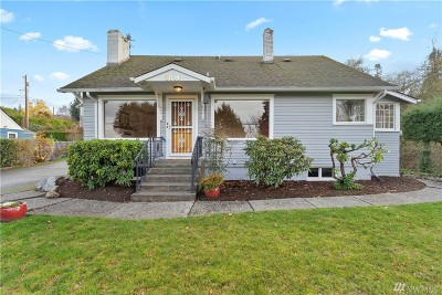 Everett Single Family Home For Sale: 3814 Mukilteo Blvd
