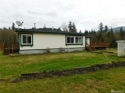 Single Family Home For Sale: 25333 Ebey Mountain Rd