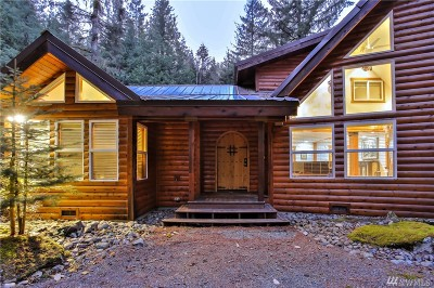 North Bend Single Family Home For Sale: 20626 Tinkham Rd