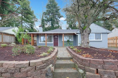 Seattle Single Family Home For Sale: 9236 23rd Ave SW