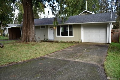 Olympia Single Family Home For Sale: 7518 Lakeside St SW