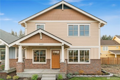 Olympia Single Family Home For Sale: 2227 Park View St NE