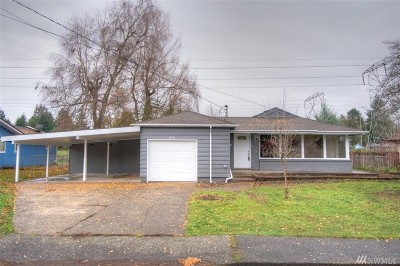 Tumwater Single Family Home For Sale: 301 Y St W