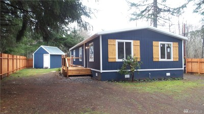 Elma Single Family Home For Sale: 52 W Hamma Hamma Dr