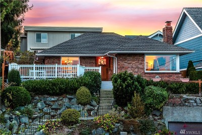 Seattle WA Single Family Home Sold: $965,000