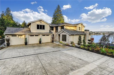 Mercer Island Single Family Home For Sale: 9980 SE 38th St
