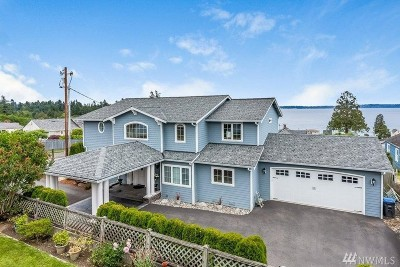 Port Orchard Single Family Home For Sale: 7840 E Main St