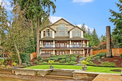 Lake Tapps WA Single Family Home For Sale: $2,200,000