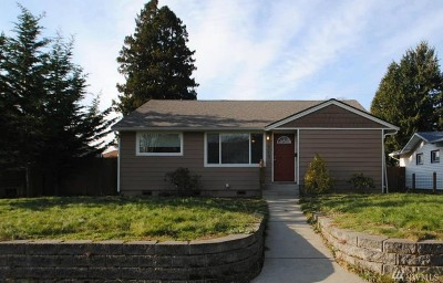 Tacoma Single Family Home For Sale: 7240 S G St