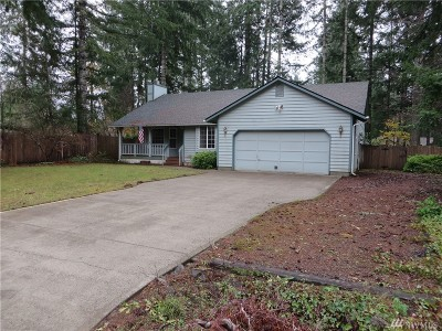 Shelton WA Single Family Home Contingent: $239,900