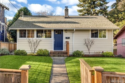 Seattle Single Family Home For Sale: 1625 29th Ave