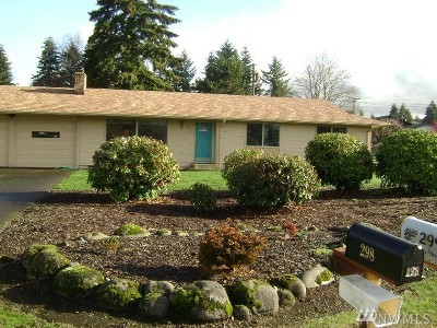 Tenino Single Family Home For Sale: 298 Ragless St N