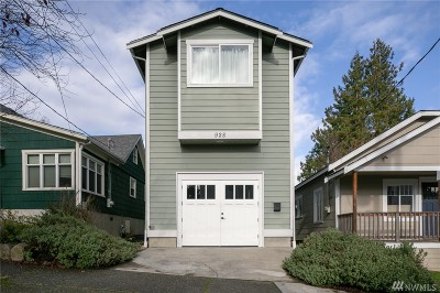 Seattle, Bellevue, Kenmore, Kirkland, Bothell Single Family Home For Sale: 928 N 86th St