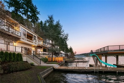 Bellevue Single Family Home For Sale: 1830 W Lake Sammamish Pkwy NE