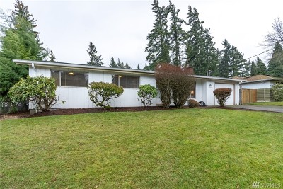 Redmond Single Family Home For Sale: 8346 133rd Ave NE
