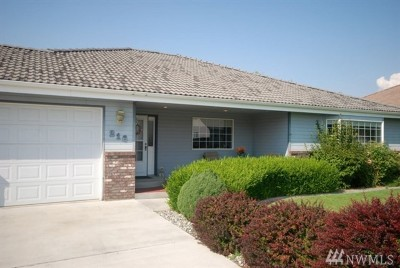 Moses Lake Single Family Home For Sale: 216 E Tanglewood