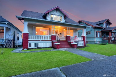 Tacoma Single Family Home For Sale: 1515 S Ainsworth Ave