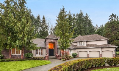 Woodinville Single Family Home For Sale: 19609 222nd Ave NE