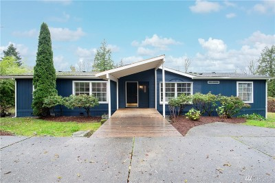 Snohomish Single Family Home For Sale: 7631 188th St SE