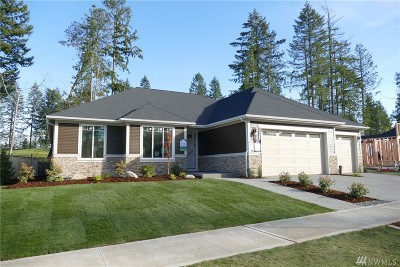 Thurston County Single Family Home For Sale: 4246 Bogey Dr NE #Lot42