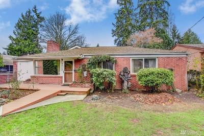 Shoreline Single Family Home For Sale: 14717 23rd Ave NE