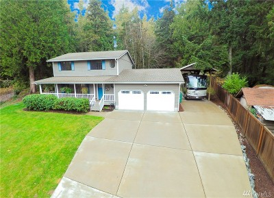Port Orchard Single Family Home For Sale: 5695 SE Mayhill Ct