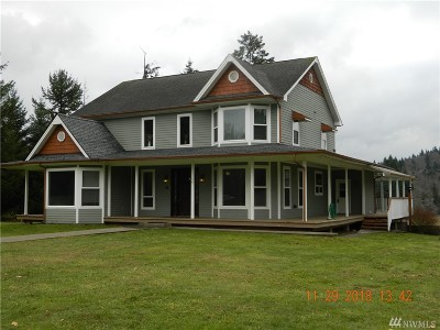 Lewis County Single Family Home Pending: 448 Independence Rd