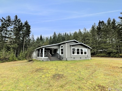 Belfair Single Family Home For Sale: 1312 E Trails Rd