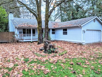 Olympia Single Family Home For Sale: 9824 Lookout Dr NW