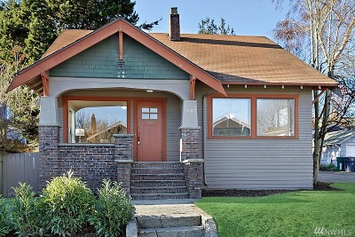 Seattle Single Family Home For Sale: 7409 32nd Ave NW