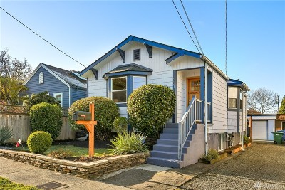 Seattle Single Family Home For Sale: 6531 Chapin Place N