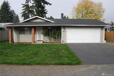 Everett Single Family Home For Sale: 803 91st Place SW
