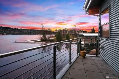 Renton Single Family Home For Sale: 3907 Lake Washington Blvd N