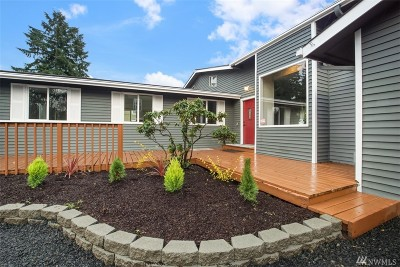 Olympia Single Family Home For Sale: 801 Wilson St SE